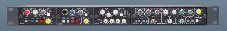 modular Channel Strip ToolMod with Mic-Pre, DI-Amp, Compressor and 5-Band-EQ